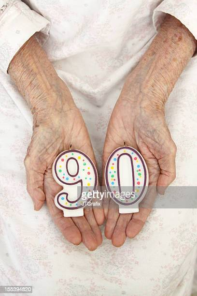 Ninety-Year-Old Hands