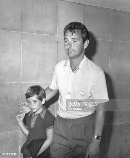 Nineyearold Nigel Clough and his father Brian arrive back from Alicante where the family had being enjoying a holiday so he can take up his new...