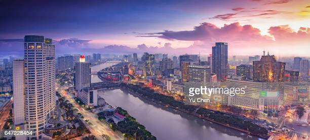 Ningbo City in China