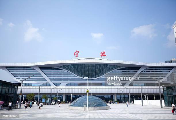 NingBo Railway Station in Zhejiang Province
