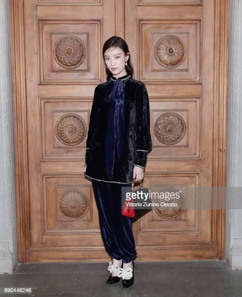 2b18679d17f NiNi arrives at the Gucci Cruise 2018 fashion show at Palazzo Pitti on May  29 2017