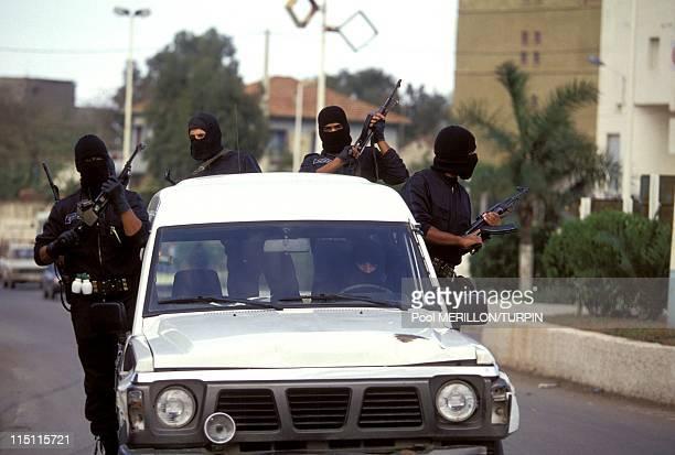 Ninja' antiterrorist unit in Algiers Algeria on October 28 1993