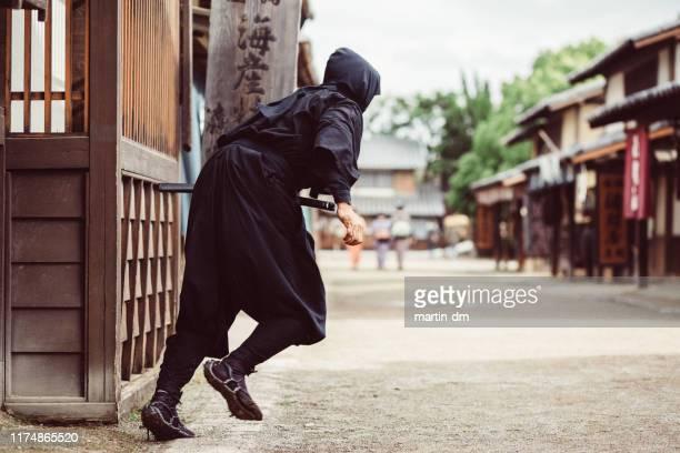 guerrero ninja - ninja fotografías e imágenes de stock