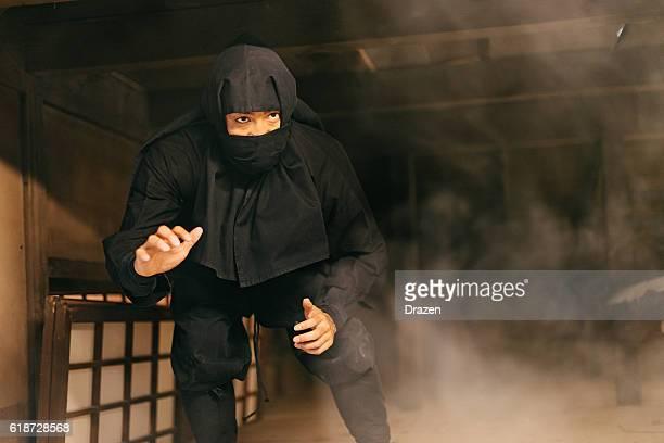 Ninja warrior ready for revenge