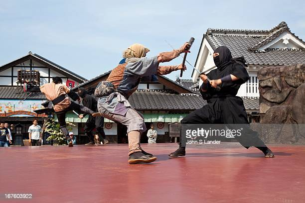 Ninjas were warriors specially trained in a variety of unorthodox battle techniques Ninja first appeared in 14th century Japan and remained active...