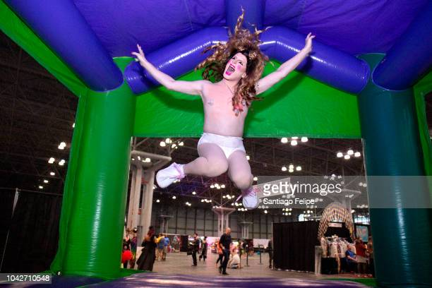 Ninny Nothin attends RuPaul's DragCon NYC 2018 at Javits Center on September 28 2018 in New York City