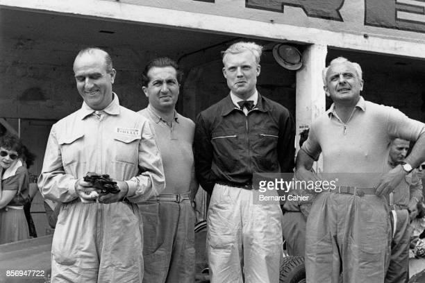 Nino Farina, Alberto Ascari, Grand Prix of Italy, Autodromo Nazionale Monza, 05 September 1954.
