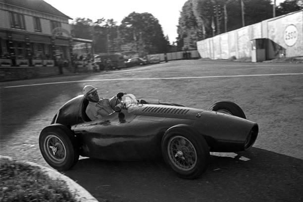 Nino Farina, Ferrari 553 , Grand Prix of Belgium, Circuit de Spa-Francorchamps, 20 June 1954.