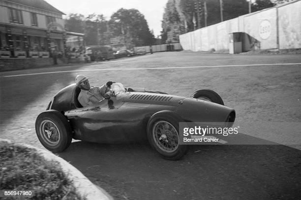 Nino Farina Ferrari 553 Grand Prix of Belgium Circuit de SpaFrancorchamps 20 June 1954