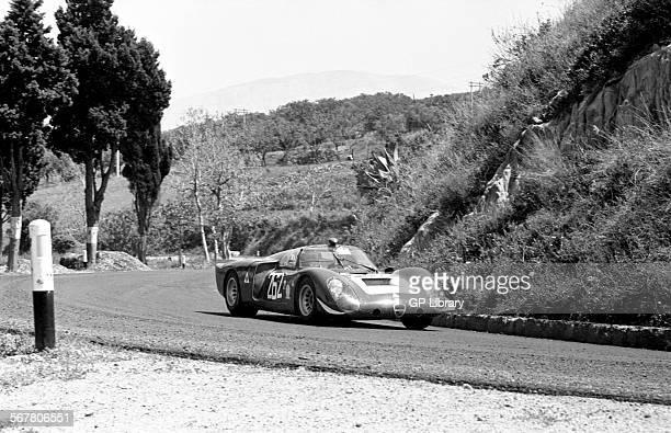 Nino VaccarellaAndrea de Adamich works Alfa Romeo T33 finished 39th in the Targa Florio Sicily 4 April 1969