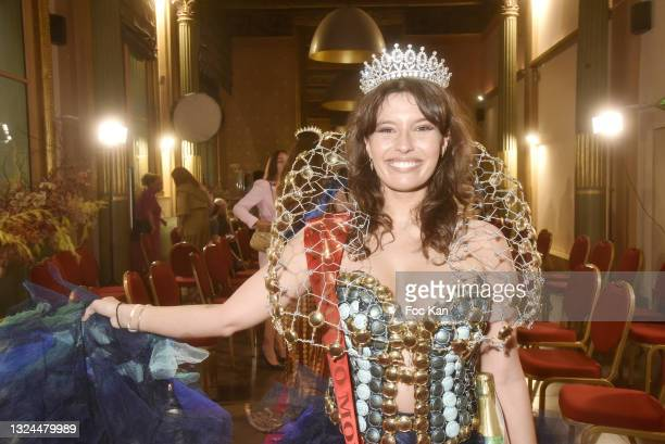 Ninon Dechavanne attends Miss Europe Asia 2021 Contest Ceremony at Hotel Normandy le Chantier on June 19, 2021 in Paris, France.