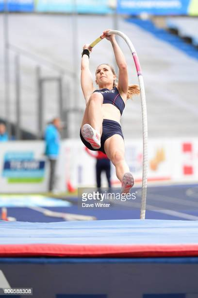 Ninon Guillon Romarin during the European Athletics Team Championships Super League at Grand Stade Lille Métropole on June 24, 2017 in Lille, France.