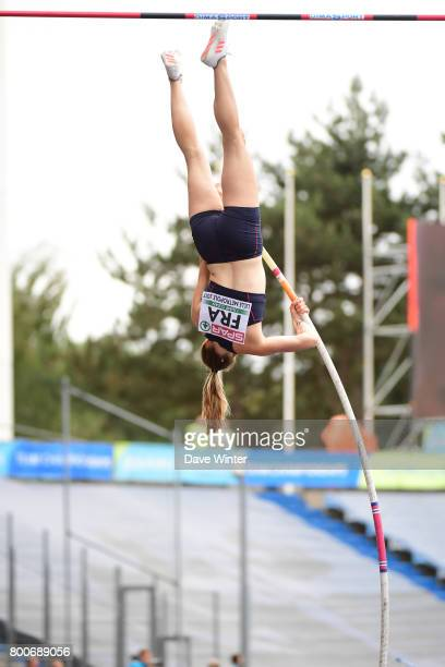 Ninon Guillon Romarin during the European Athletics Team Championships Super League at Grand Stade Lille Mtropole on June 24, 2017 in Lille, France.