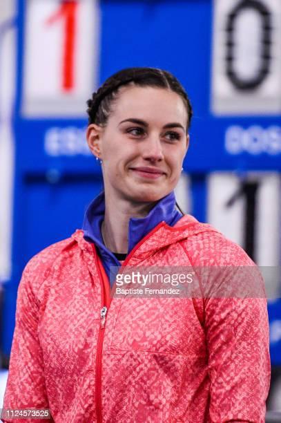 Ninon Guillon Romarin during the Meeting Women's Val D'Oise Eaubonne 2019 on February 12, 2019 in Paris, France.