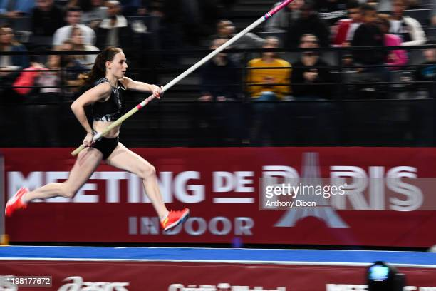 Ninon GUILLON ROMARIN of France during the Paris Meeting Indoor at AccorHotels Arena on February 2, 2020 in Paris, France.