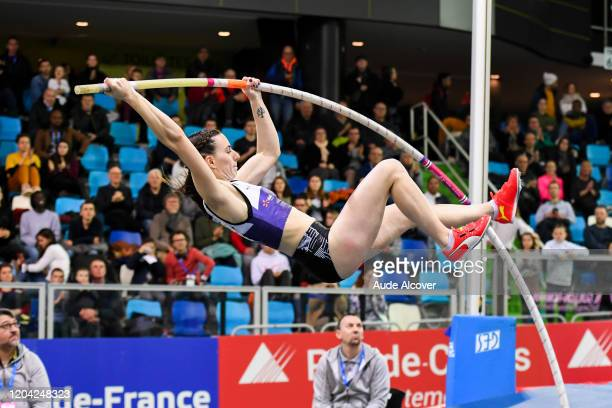 Ninon GUILLON-ROMARIN of France during the France Elite indoor championships on February 29, 2020 in Lievin, France.