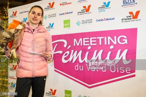Ninon GUILLON-ROMARIN of France during the Meeting Women's Val D'Oise Eaubonne 2020 on February 17, 2020 in Paris, France.