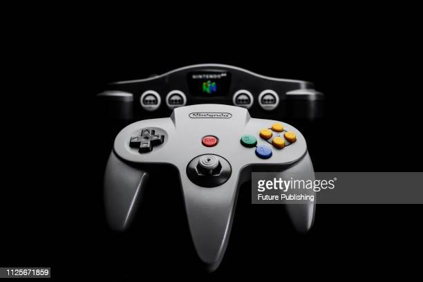 Nintendo 64 video game console and controller , taken on June 22, 2016.