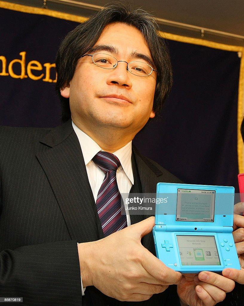 Nintendo President Satoru Iwata Holds Press Conference