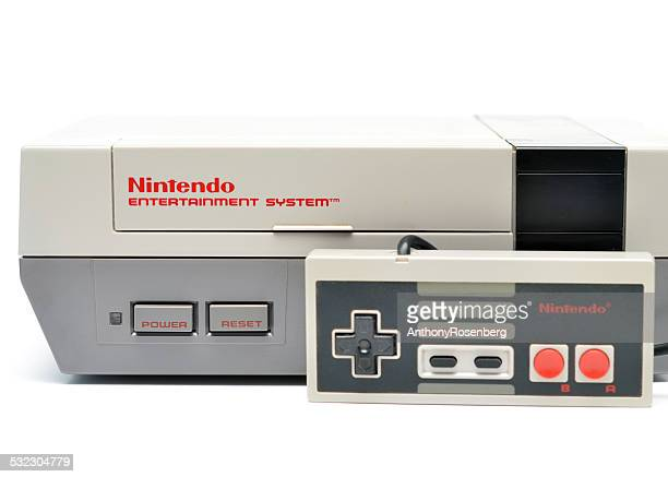 nintendo entertainment system - nintendo stock pictures, royalty-free photos & images