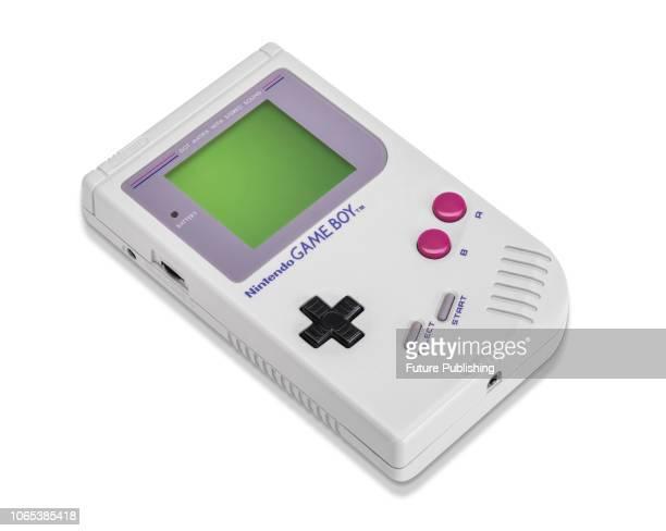 Nintendo Game Boy handheld video game console, taken on July 13, 2016.