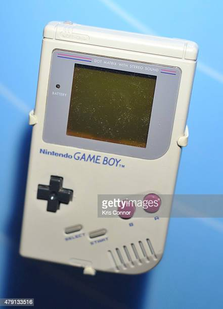 Nintendo Game Boy ison display during the grand opening of National Museum Of American History's Innovation Wing at the National Museum Of American...