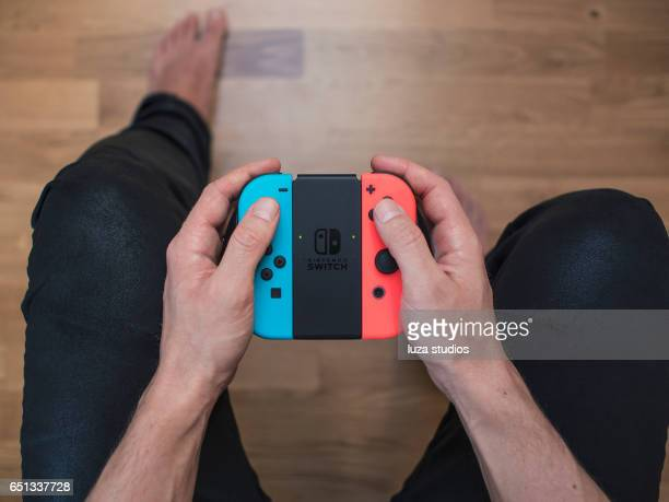 Nintendo Switch neon Game Controller