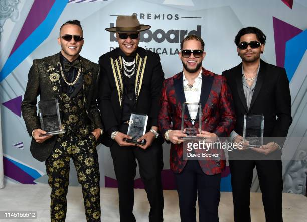 Nio Garcia Darell Casper Magico and Young Martino attend the 2019 Billboard Latin Music Awards at the Mandalay Bay Events Center on April 25 2019 in...