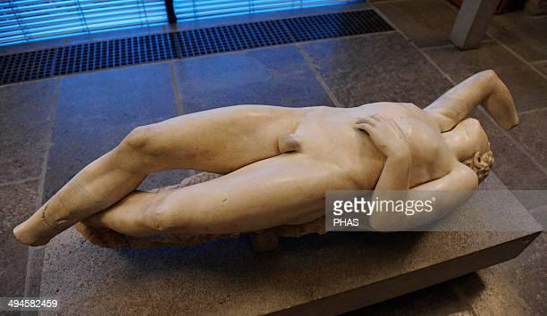 Niobid Roman statue copy of an original of 320 BC Glyptothek Munich Germany