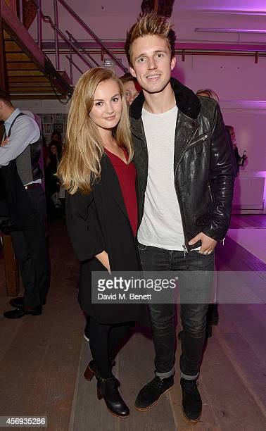 Niomi Smart and Marcus Butler attend as Ruth Crilly unveils a new haircare sensation Colab on October 9 2014 in London England