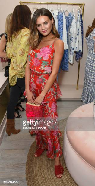 Niomi Smart attends the Beulah London store opening on May 16 2018 in London England