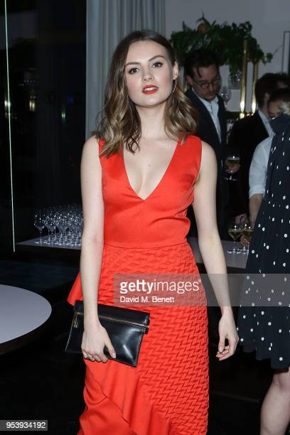 Niomi Smart attends the British Fashion Council x Vogue dinner at The Mandrake Hotel on May 2 2018 in London England