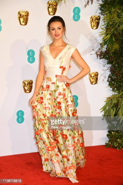 Niomi Smart attends the EE British Academy Film Awards at Royal Albert Hall on February 10 2019 in London England