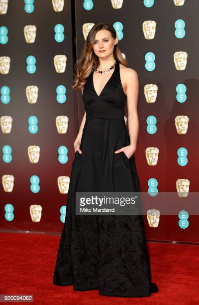 Niomi Smart attends the EE British Academy Film Awards held at Royal Albert Hall on February 18 2018 in London England