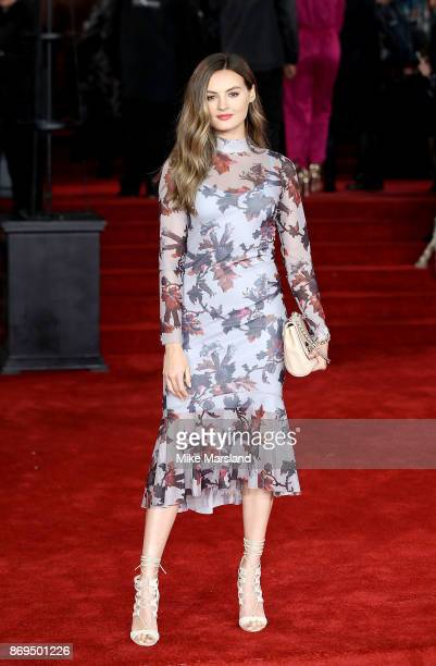 Niomi Smart attends the 'Murder On The Orient Express' World Premiere at Royal Albert Hall on November 2 2017 in London England
