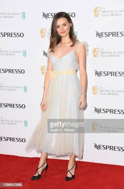 Niomi Smart attends the Nespresso British Academy Film Awards nominees party at Kensington Palace on February 9 2019 in London England