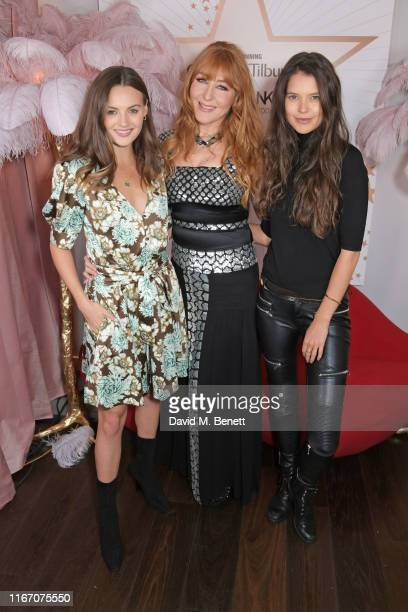 Niomi Smart Charlotte Tilbury and Sarah Ann Macklin attend the premiere party for the launch of awardwinning brand Charlotte Tilbury at the Space NK...