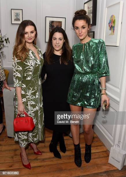 Niomi Smart Mary Katrantzou and Rosanna Falconer attend the first femaleonly members' club in the UK for working women The AllBright that opens its...
