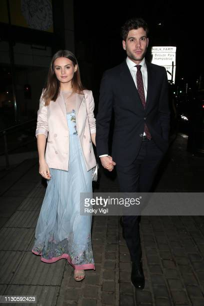 Niomi Smart seen attending London Fabulous Fund Fair at Roundhouse during LFW February 2019 on February 18 2019 in London England