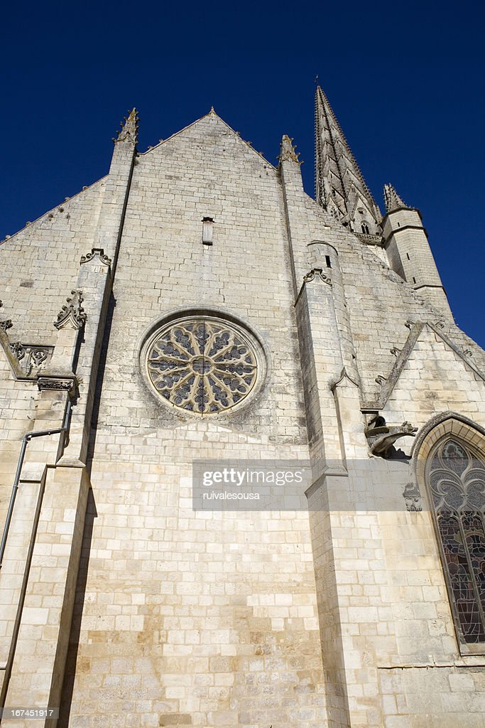 Niort church : Stock Photo
