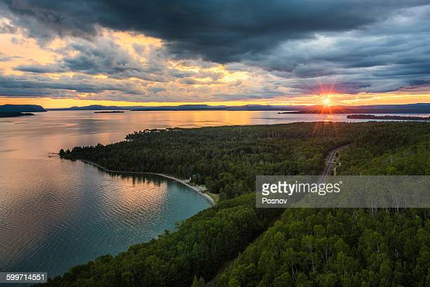 nipigon bay - great lakes stock pictures, royalty-free photos & images