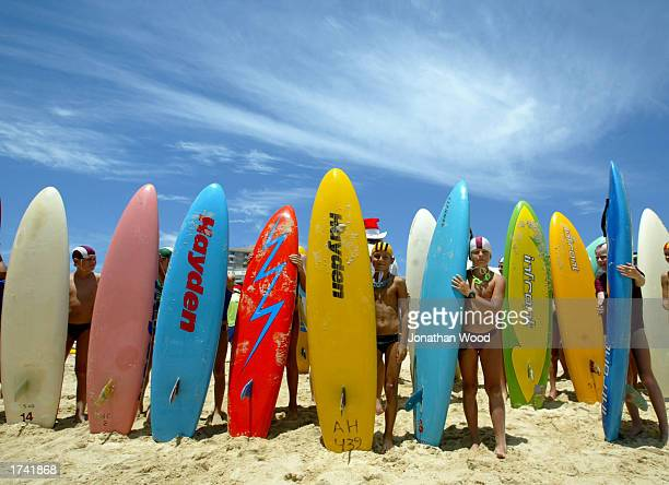 Nippers prepare for the start of competition