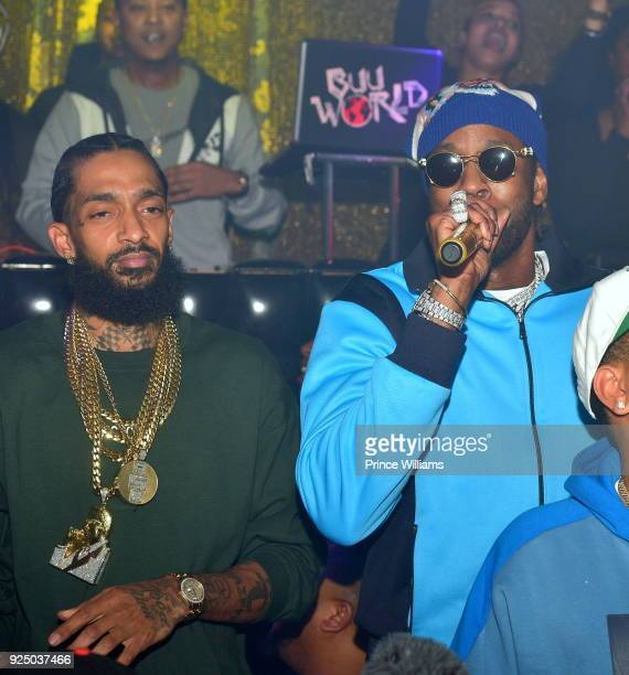 43 Nipsey Hussle Album Release Party For Victory Lap