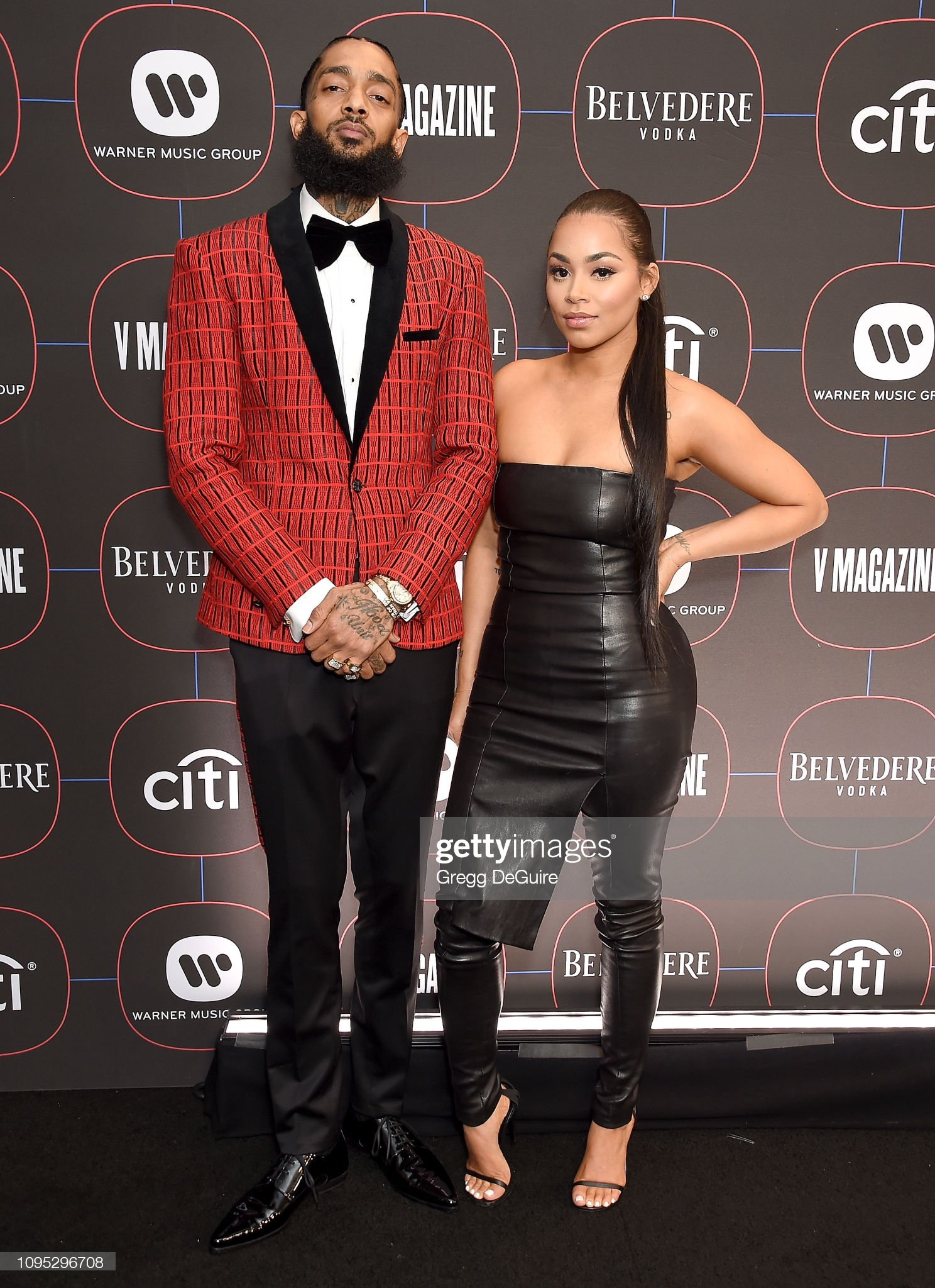 ¿Cuánto mide Lauren London? - Altura - Real height Nipsey-hussle-and-lauren-london-arrive-at-the-warner-music-group-at-picture-id1095296708?s=2048x2048