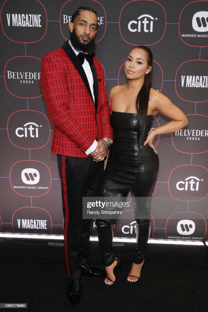 Warner Music Pre-Grammy Party - Red Carpet : News Photo