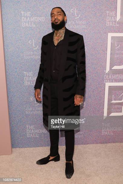 Nipsey Hussle attends the 2018 Diamond Ball at Cipriani Wall Street on September 13 2018 in New York City