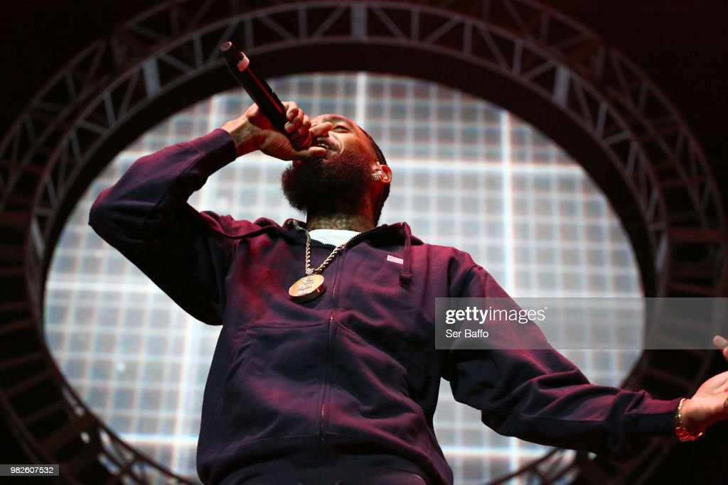 2018 BET Experience STAPLES Center Concert Sponsored by SPRITE - Night 3 : News Photo