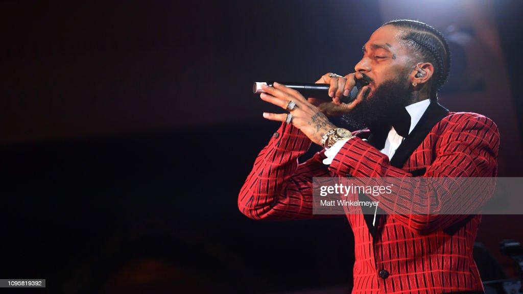 Warner Music Pre-Grammy Party - Inside : News Photo
