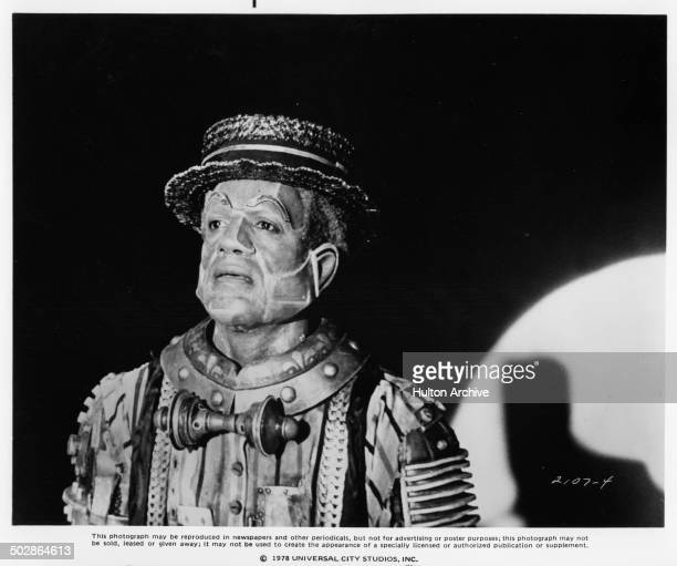 Nipsey Russell as the Tin Man looks on in a scene for the Universal Studios movie The Wiz circa 1978