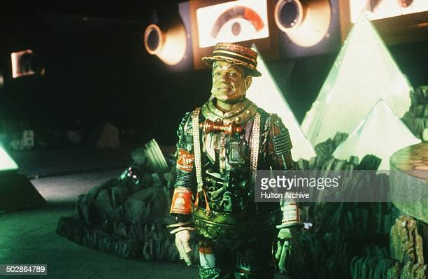 Nipsey Russell as the Tin man walks in a scene for the Universal Studios movie The Wiz circa 1978